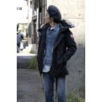 【正規取扱店】 CANADA GOOSE ( カナダグース) / メンズ / JASPE R PARKA (ジャスパー) / BLACK (9920400065)