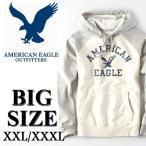 大きいサイズ メンズ アメリカンイーグル AMERICAN EAGLE スウェットプルオーバーパーカー XL XXL XXXL