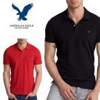 大きいサイズ メンズ アメリカンイーグル AMERICAN EAGLE 半袖 ワンポイント刺繍 ポロシャツ XL XXL XXXL