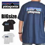 大きいサイズ メンズ patagonia パタゴニア P-6ロゴ・コットン・Tシャツ  半袖 XL XXL [PATA-002-A]