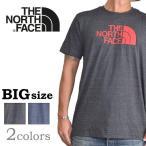 大きいサイズ メンズ ノースフェイス THE NORTH FACE 半袖 ロゴ Tシャツ USA直輸入 SLIM fit XL XXL