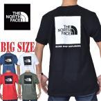 大きいサイズ メンズ ノースフェイス THE NORTH FACE 半袖 ロゴプリント Tシャツ  STANDARD / CLASSIC FIT USAモデル XL XXL XXXL