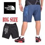 大きいサイズ メンズ ノースフェイス THE NORTH FACE ショーツ ハーフパンツ スウェット 黒 ブラック EUモデル XL XXL