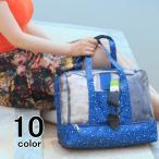 ビニールバック プールバック 撥水加工 バッグ 海 プール リゾート トートバッグ 手提げ カバン 鞄