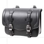 【送料無料】デグナー ハーレー バイク 鉄馬 合皮 サイドバッグ サドルバッグ 高級感 バッグボード標準装備 DSB-1 ブラック