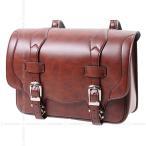 【送料無料】デグナー ハーレー バイク 鉄馬 合皮 サイドバッグ サドルバッグ 高級感 バッグボード標準装備 DSB-1 ブラウン