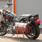 【送料無料】デグナー ハーレー バイク 鉄馬 合皮 サイドバッグ サドルバッグ 高級感 バッグボード標準装備 DSB-3 ブラウン