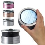 拡大鏡 ルーペ 卓上 LED ライト付き スタンド レンズ 手持ち 最大で4.8倍 ピント調整不要 電池交換不要 充電式 スモリアTZC 3r-smolia-tzc おしゃれ