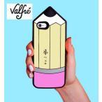 Valfreヴァルフェー LA直輸入 3D iPhone6 iPhone6Plus対応 シリコンカバー ペンシルデザイン Pencil iPhoneケース スマホケース