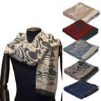 ショッピングViVienne Vivienne Westwood ヴィヴィアンウエストウッド 大柄ロゴマークプリントのストール 04804-21717