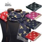 ショッピングVivienne Vivienne Westwood ヴィヴィアンウエストウッド 小柄ロゴマークプリントのストール 50904-21617