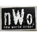 OTH-19 NWO WWE WCW プロレス シルバー ワッペン レア  パッチ 蝶野 ホーガン