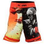 PNT-21 総合格闘技 MMA UFC ファイトパンツ トランクス 黒赤 RDX 各size