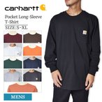 �᡼����  CARHARTT �����ϡ��� K126 Men's Workwear Pocket Long-Sleeve T-Shirt ��� ��������� ��󥰥��꡼�� �ݥ��å�T����� ��� ���T