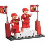 おもちゃ ゲーム 積み木 レゴ ブロック Lego Racers Ferrari F1 M. Schumacher & R. Barrichello 8389 (japan import)ミニフィギュア