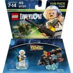 おもちゃ ゲーム 積み木 レゴ ブロック Back to the Future Doc Brown Fun Pack - LEGO Dimensionsミニフィギュア