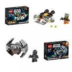 おもちゃ ゲーム 積み木 レゴ ブロック LEGO Star Wars: TIE Advanced Protoype & The Ghost Bundle Setミニフィギュア