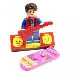 おもちゃ ゲーム 積み木 レゴ ブロック MinifigurePacks: Lego Back to the Future Bundle (1) Marty McFly Minifigure - Cuusoo Varia..