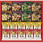 お中元特価  味の素 具たっぷり味噌汁&クノールスープギフト  FDM-30Q ( フリーズドライ スープ みそ汁 詰合せ ギフト セット )A__201079a080画像