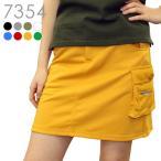 アンダーパンツ付カーゴスカート(丈長め) 多機能  L LL 大きいサイズ レディースゴルフウェア
