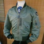 BUZZ RICKSON'S バズリクソンズ フライトジャケット  Type L-2B 『TOPS APPAREL MFG.CO.,INC.』 BR11132-01/SAGE GREEN