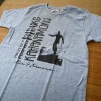DUKE KAHANAMOKU デューク・カハナモク ポケット付半袖Tシャツ 『Duke's Respect』 DK76100-113/H.GREY