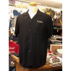 STYLE EYES スタイルアイズ 半袖 レーヨン ボウリングシャツ SE37555-119/BLACK オープンシャツ