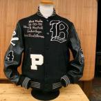 WHITESVILLE ホワイツビル AWARD JACKET アワードJK スタジャン Baseball『 PIRATES 』WV12570-119/BLACK