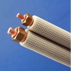 期間限定特価 因幡電工 フレア配管セット 7m フレアナット付き 配管部材なし 対応冷媒:2種 SPH-237-C
