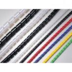 エスケイ工機 電線保護材 スパイラルチューブ 内径Φ12.0mm 外径14.0mm 乳白(ナチュラル) 50m巻 SP-12