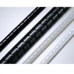 エスケイ工機 電線保護材 スリットチューブ 内径Φ8mm 使用最大径10mm 黒 100m ST-08PEBK