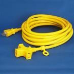 正和電工 トライアングルマルチタップ延長コード 3個口 5m 黄 VCTM-5YE
