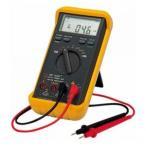 カスタム デジタルマルチメータ 機能(直流・交流電圧、直流・交流電流、交流・直流電流mA、抵抗、導通チェック、ダイオードテスト) CDM-2000D