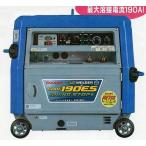 デンヨー ガソリンエンジン溶接機 GAW-190ES(キャプタイヤコード20mセット) 代引不可 (北海道・沖縄・離島は、別途運賃お見積り必要)