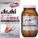 【アサヒ】 スーパービール酵母Z  660錠