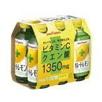 【ポッカサッポロ】キレートレモン 155ml×6本パック【瓶】