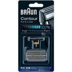 BRAUN メンズシェーバー 網刃・内刃コンビパック F/C31S ブラウン