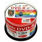 HI-DISC 録画用DVD-R 4.7GB 16倍速対応 50枚入 CPRM対応  HDDR12JCP50 ハイディスク