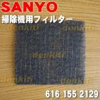 サンヨー 掃除機 SC-KM4 SC-KJ4 SC-E55 用 モーター前フィルター SANYO 三洋 6161552129