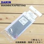 ダイキン エアコン 光触媒 集塵 脱臭フィルター (枠無し) DAIKIN KAF021A42 (99A0484)