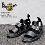 ドクターマーチン サンダル レディース メンズ グリフォン ブラックブランド Dr.Martens GRYPHON BLACK BRANDO 15695001