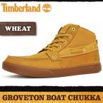 ティンバーランド ブーツ メンズ グローブトン ボート チャッカ ウィート Timberland GROVETON BOAT CHUKKA WHEAT 2254B