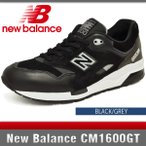 ニューバランス スニーカー メンズ CM1600GT ブラック/グレー Dワイズ New Balance BLACK/GREY