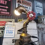 インダストリアル照明 LED水道管デスクスタンドライト-型番I001-