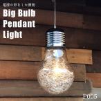 ペンダントライト レトロ 1灯 大きな電球 天井照明 -型番P005-
