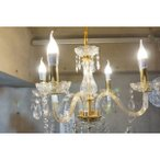 シャンデリア ライト LED ペンダント 天井照明 ランプ 4灯