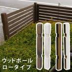 Yahoo!家電のでん太郎住まいスタイル SFP-950DBR ウッドフェンス用ポール950(ロータイプ)単品販売 (SFP950DBR)