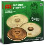 "MEINL 0840553012545 Cymbals Byzance Vintage Series シンバルセット 14""Hihat/18""Crash/20""Ride Sand Cymbal Set BV-141820SA"