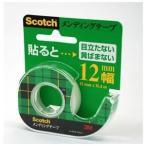 ds-1525827 (まとめ) 住友スリーエム スコッチ(R)メンディングテープ (小巻)テープカッター付き 巻芯径25mm CM-12 1個入 【×20セット】
