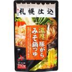 ベル食品 札幌仕込 濃厚 豚がらみそ 鍋つゆ(750g)